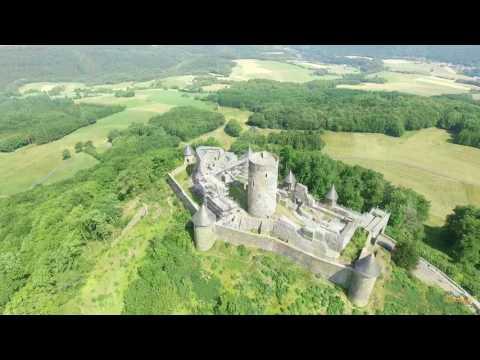 Nurburg Castle flyover
