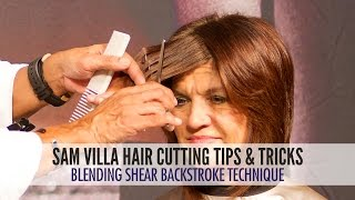 Great Technique for Front Face Frame Area (How Your Stylist Can Help Keep Your Bangs Away From Your