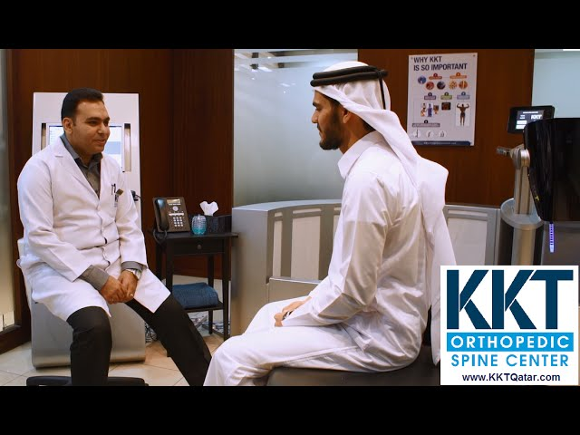 KKT Qatar are leaders in Non-invasively treating back pain with Dr Ahmed Dawoud