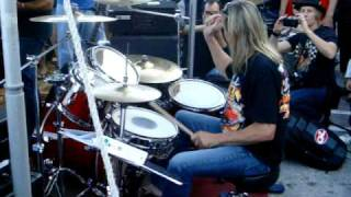 Nicko playing The Trooper at the Rock N Roll Ribs 1 Year Anniversary Party on 12/12/10. Check out my band ARCHON at ...