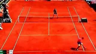 Tennis Highlights, Video - [HD]Kyrgios Tweener Hot Shot VS Murray Roland Garros