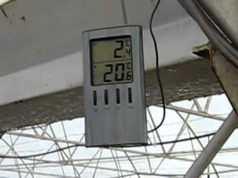 plastenik grejanje zima 2009