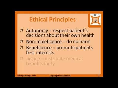 principles beneficence and non maleficence Learning objectives introduction beneficence and non-maleficence autonomy  special situations  medical ethics are based on the following four principles.