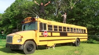 WE GOT OUR BUS HOME!!