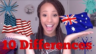 Today I showed you 10 differences between Australia and America, 10 differences between America and Australia, differences between countries, AUSTRALIA ...