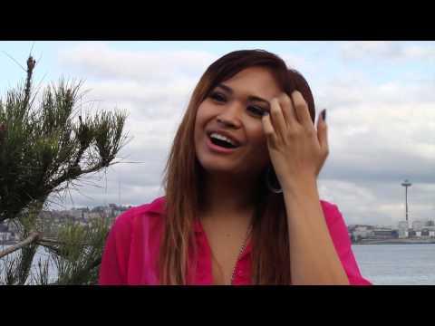 Athena Garcia interview at Alki Beach (Seattle,Wa)