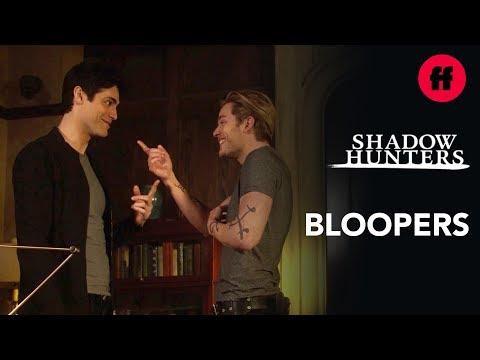 Shadowhunters | Season 3B Bloopers: Part 1 | Freeform