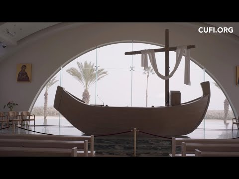 Unique Church on Sea of Galilee, Home to Replica First Century Fishing Boat