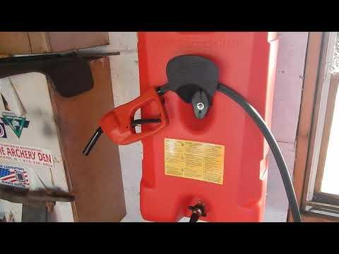 14 Gallon Flo n Go  gas tank review