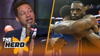Video Chris Broussard on how the Lakers could land LeBron, Chris Paul and Paul George | NBA | THE HERD MP3, 3GP, MP4, WEBM, AVI, FLV Juni 2018