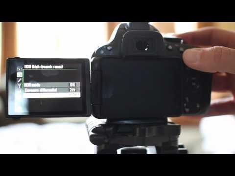 Nikon D5100 In Camera HDR Tutorial