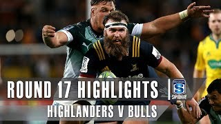 Highlanders v Bulls Rd.17 2019 Super rugby video highlights | Super Rugby Video Highlights