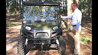 4. Polaris Ranger Crew 570 | Benson's Kennel