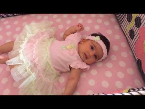 Liana : Cute 2 month old baby girl Liana