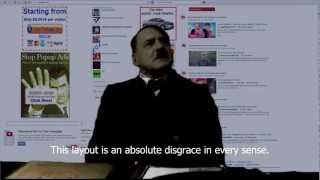 Hitler rants about YouTube's 100th layout