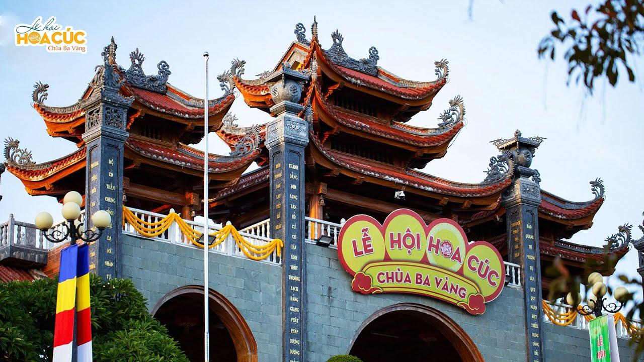 Lễ hội Hoa cúc chùa Ba Vàng 2020 - Hướng về miền Trung thân yêu