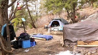The Vexing Problem of Moving the Homeless Camp
