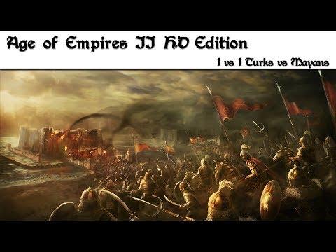 Age of Empires II HD Edition ➤ 1v1 Turks vs Mayans