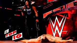 Top 10 Raw Moments  Wwe Top 10  Oct  3  2016