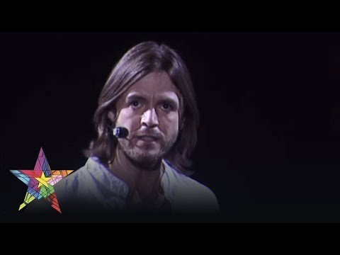musicals - http://www.jesuschristsuperstar.com Steve Balsamo, who played Jesus at the Lyceum Theatre in 1996, performs 'Gethsemane' at the Musicals in Ahoy concert, Hol...