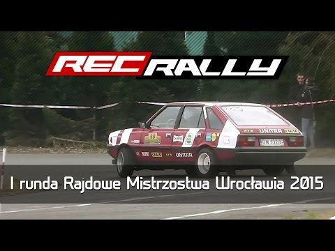 I runda Rajdowe Mistrzostwa Wrocławia 2015 - action, drift, max attack by RecRally