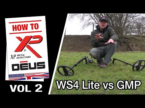 Metal Detector XP DEUS: WS4 Lite vs GMP (2/10) [EN]