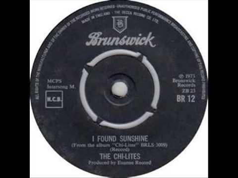 Tekst piosenki The Chi-Lites - I Found Sunshine po polsku