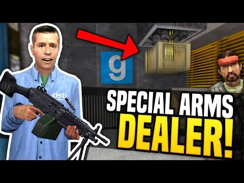SPECIAL ARMS DEALER - Gmod DarkRP | Gun Tube System!