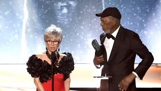 Morgan Freeman Menerima Lifetime Achievement Award