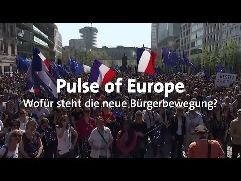 Pulse of Europe: Neue pro-europäische Bewegung