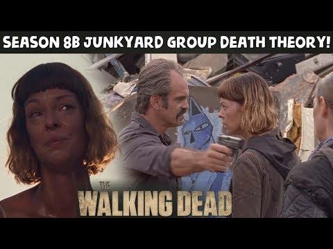 TWD Season 8 Episode 10 - Simon Murders the Junkyard Group Theory!