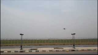 Suvarnabhumi Airport Runway Spotting, Bangkok, Thailand