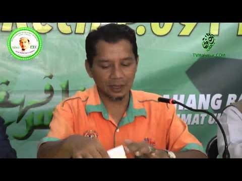 Sidang Media PRK P.091 Rompin | Saudara Mazlan Aliman
