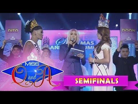 It's Showtime Miss Q & A Semifinals: Zoren Aguinaldo vs. Angelika Mapanganib   Di Ba? Teh! Ganern