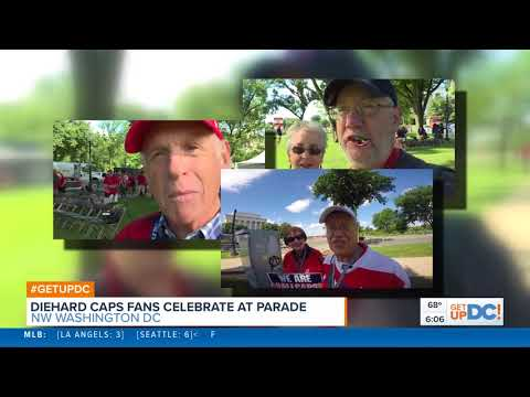 The Youngest and Oldest Fans At the Caps Parade
