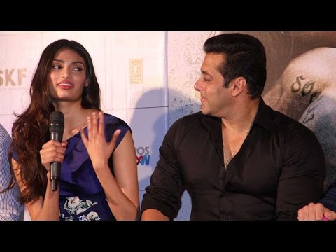 Must Watch: Salman Khan's Advice For Athiya Shetty