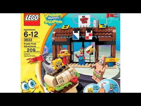 Video Video advertisement of the Sponge Bob Square Pants Krusty Krab Adventures