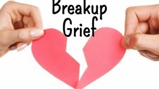 """The loss of a relationship can be devastating. It is not unusual to see a person post-breakup going through a sort of """"5 stages of..."""