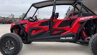 7. 2019 Polaris RZR XP 4 Turbo S Indy Red
