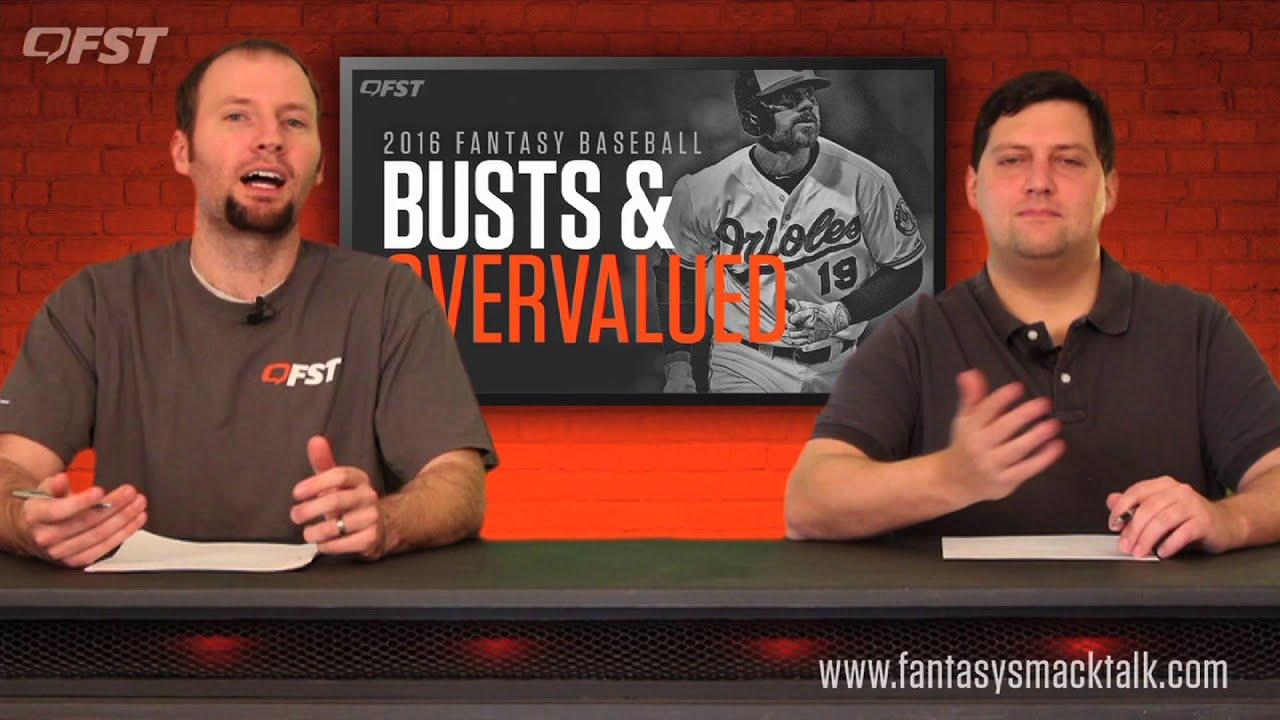 2016 Fantasy Baseball Busts and Overvalued thumbnail