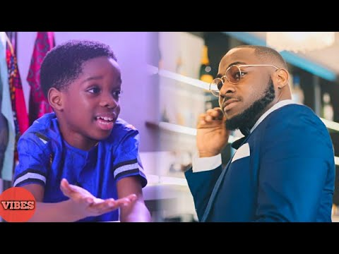 Wizkid's Son In Tears As He Dances To Davido Song