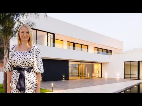 2300000€/Роскошная вилла в Испании/Дом в Бенидорме/Виллы в Испании/Дома в Сьерра Кортине/Вид на море