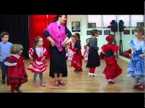 TLT Toulouse: cours de Flamenco pour des enfants