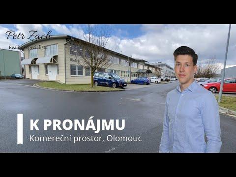 Video Komereční prostor k pronájmu v Olomouci