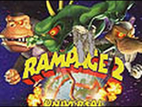 Rampage 2 : Universal Tour Game Boy