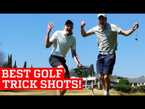Huimia temppuja: Best golf trick shots and putts!