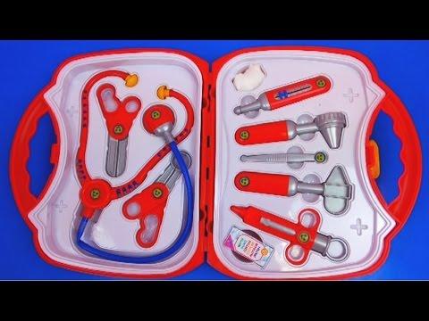 Arztkoffer von Klein Kinderarztkoffer doctor's Bag Arztinstrumente Unboxing | deutsch