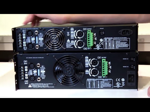 QSC CMX Power Amp Review - Preferred over RMX for Permanent Installations