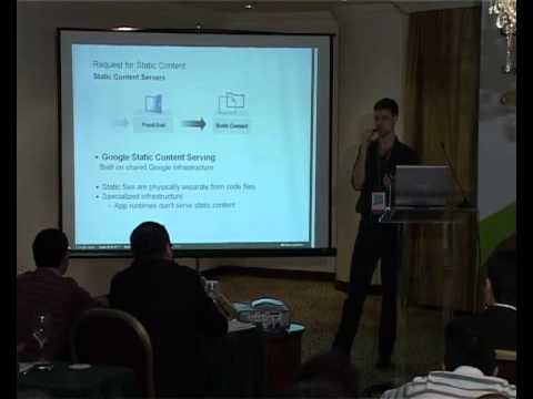 Somehow trying to sell AppEngine / the cloud in Beirut in 2011
