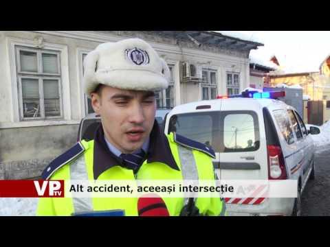 Alt accident, aceeași intersecție